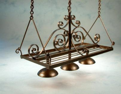 Pot Rack Light Fixture